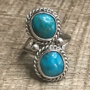 Jewelry - Navajo Sterling Silver Turquoise Ring